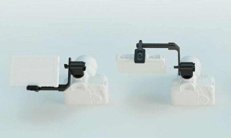 Edelkrone Monitor EVF Holder 外接螢幕 麥克風 支架 華曜公司貨 承重1.5kg 冷(熱靴)