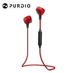 [富廉網] Purdio OPAL EX60藍牙無線運動耳機-寶石紅 Ruby Red