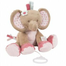 比利時【NATTOU】絨毛動物造型安撫玩偶30CM - 蘿絲 - 限時優惠好康折扣