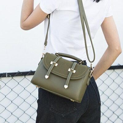 手提包純色肩背包-韓版時尚優雅百搭女包包4色73sb11【獨家進口】【米蘭精品】