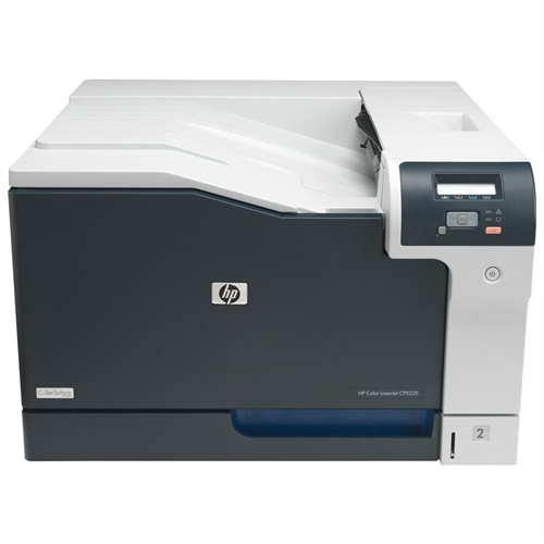 HP LaserJet CP5220 CP5225DN Laser Printer - Color - 600 x 600 dpi Print - Plain Paper Print - Desktop - 20 ppm Mono / 20 ppm Color Print - 350 sheets Standard Input Capacity - 75000 Duty Cycle - Automatic Duplex Print - LCD 0