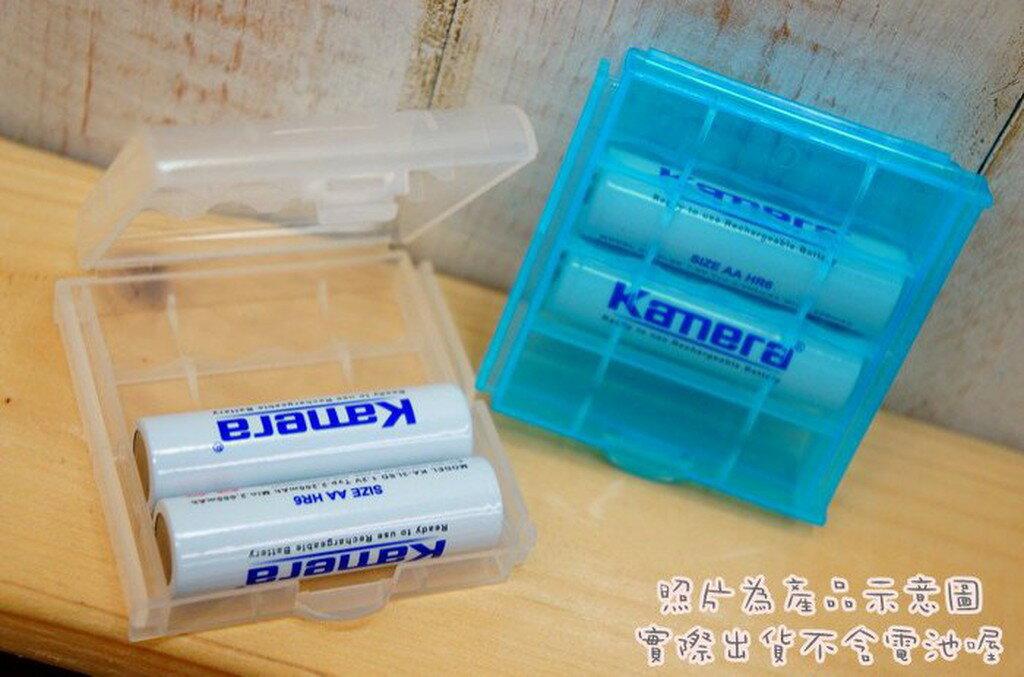 【中壢NOVA-水世界】3號電池 4號電池 充電電池 鎳氫 電池收納盒 電池盒 可放4顆3號電池 AA