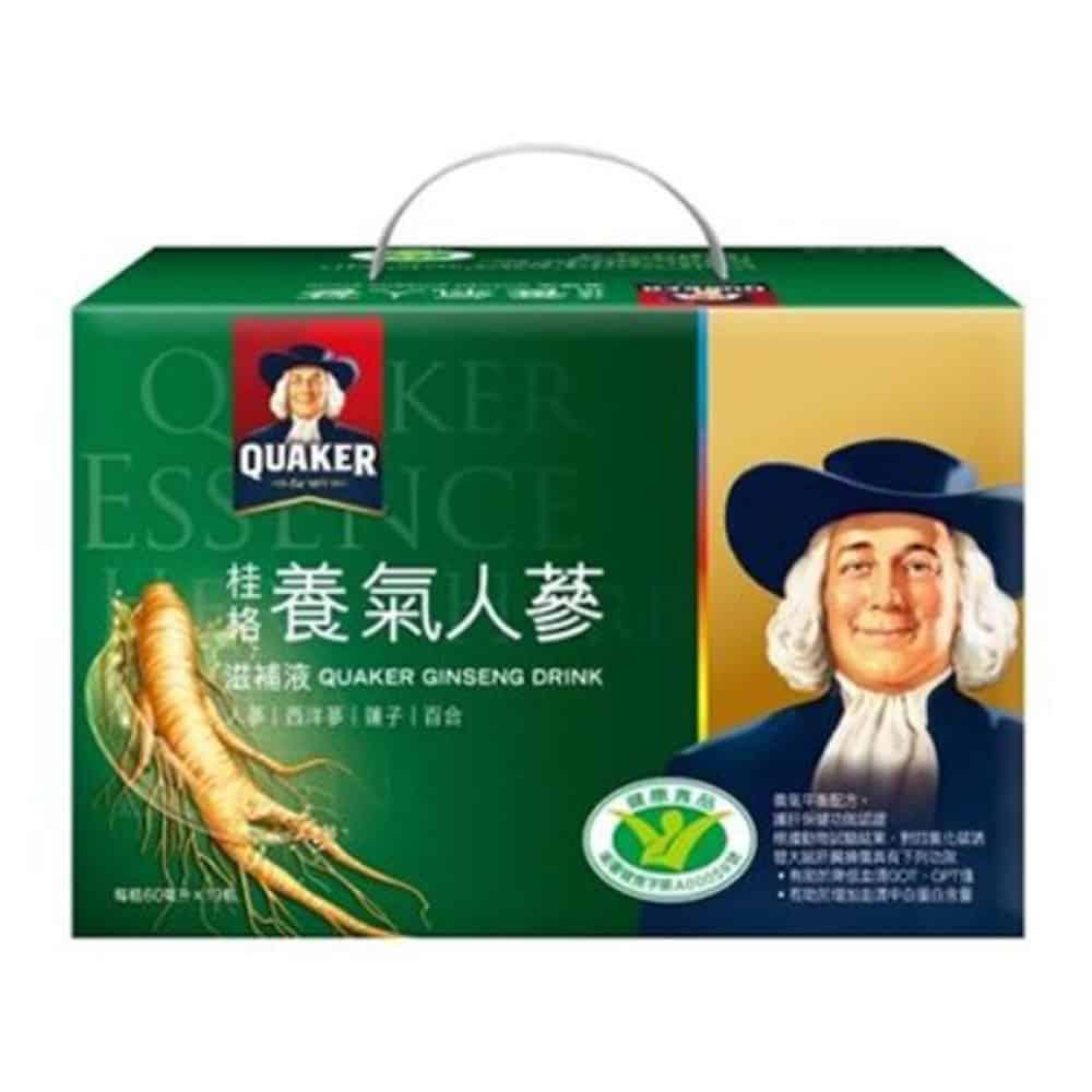 桂格 養氣人蔘滋補液 60ml*19瓶/盒