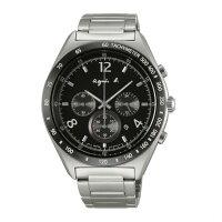 agnès b.眼鏡推薦到agnes b 7T12-0AP0D(BW8001P1)法式時尚風計時腕錶/黑面42mm就在大高雄鐘錶城推薦agnès b.眼鏡