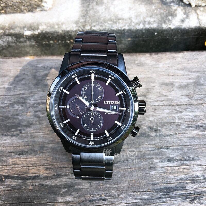 CITIZEN 星辰Eco~Drive光動能計時限定腕錶CA0615~59E 貨  金城武