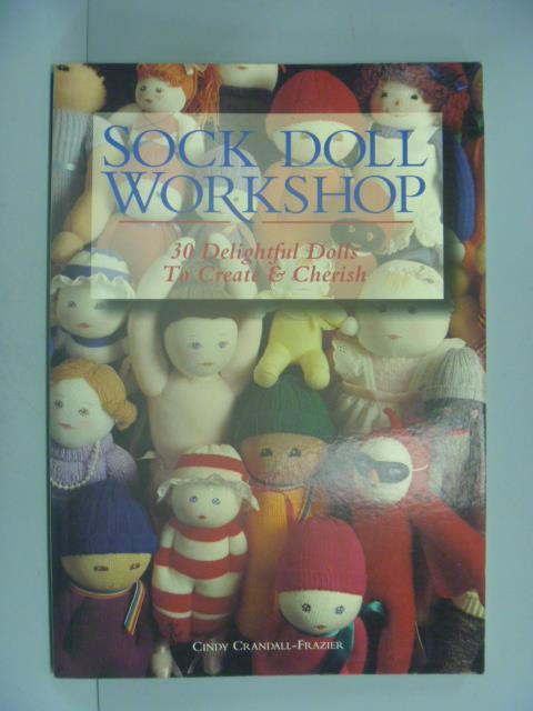 ~書寶 書T1/美工_YJO~Sock Doll Workshop_Crandall~Fr