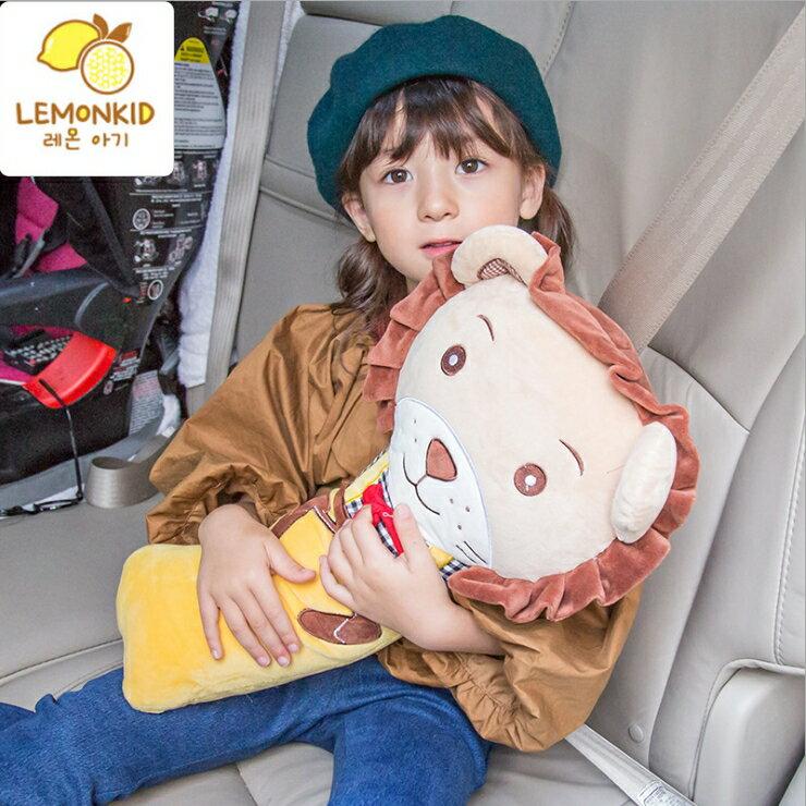 WallFree窩自在★【大抱枕】韓國卡通可愛動物抱枕  小兔  小熊  獅子 狐狸   安全帶抱枕  車用  熱銷好物 2