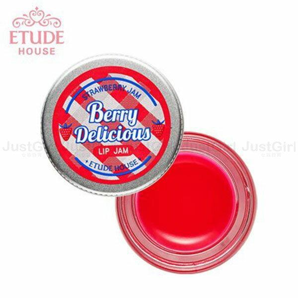 ETUDE HOUSE 護唇膏 唇蜜 莓好時光 溫和滋養護唇彩 美妝 韓國製造進口 * JustGirl *