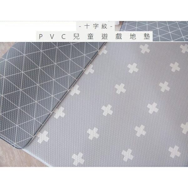 台灣 小鹿蔓蔓 Mang Mang PVC雙面遊戲地墊(十字紋)210x140x1.4cm