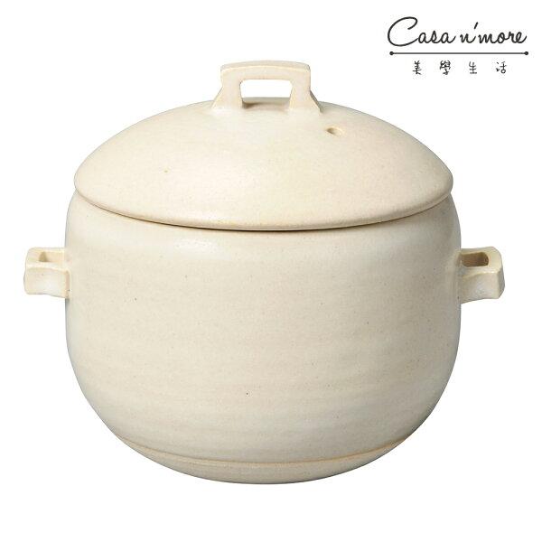 MeisterHandOKATTE飯鍋砂鍋土鍋17cm白色