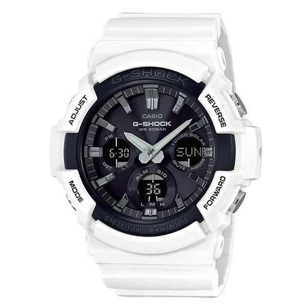 CASIO 卡西歐 G-SHOCK 迅雷戰士太陽能腕錶(限量) GAS-100B-7ADR 原廠公司貨 附保證卡 保固期一年 手錶 運動錶 電子錶