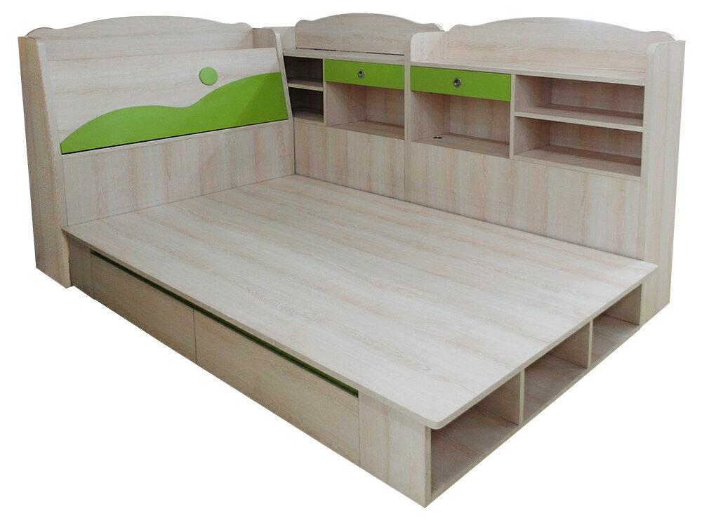 【尚品家具】K-233-06 麥克華斯基3.5尺兒童床組