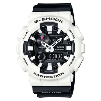 CASIO G-SHOCK GAX-100B-7衝浪運動雙顯時尚腕錶/黑白55mm