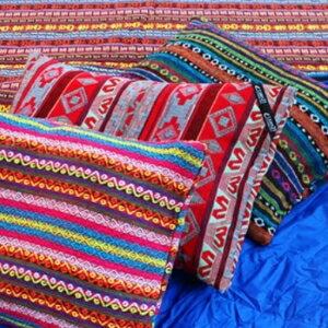 美麗大街【1105062045】韓國新款露營裝備民族風充氣枕頭套(不含枕心)