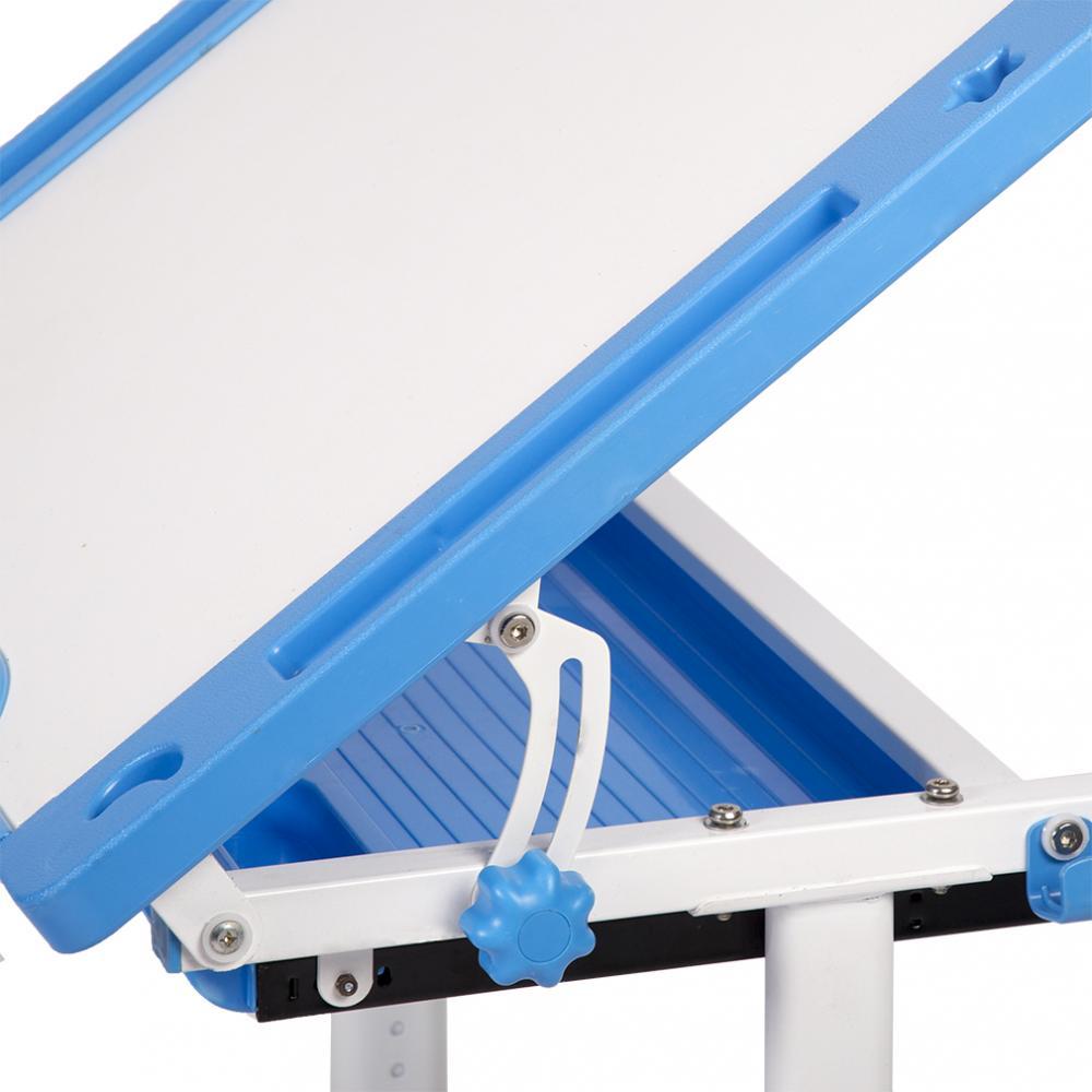 e1b1d8eab53 Blue Adjustable Children s Desk Chair Set Child Study Desk Kids Study Table  XLQ 4