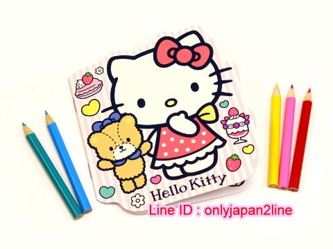 【真愛日本】161108000225入色鉛筆+著色本組-KT甜點  三麗鷗 Hello Kitty 凱蒂貓 色筆 著色本 繪畫文具