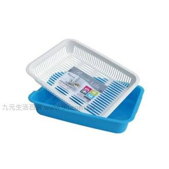 【九元生活百貨】聯府 D318 長崎滴水盤 瀝水盤