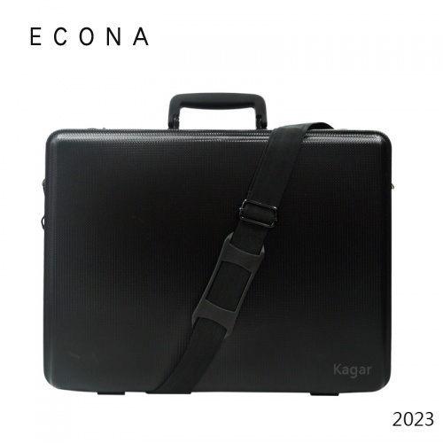 【加賀皮件】ECONA愛可樂優質007專用硬殼公事包公事箱可側背手提附背帶2023