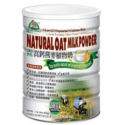 (買一送一)《小瓢蟲生機坊》有機廚房 - 加拿大高鈣高纖燕麥植物奶850g∕罐 植物奶 沖泡類