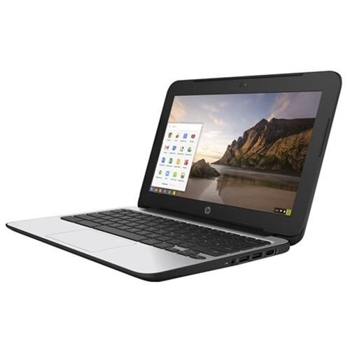 """HP Chromebook 11 G4 - Education Edition - Celeron N2840 / 2.16 GHz - Chrome OS - 4 GB RAM - 16 GB eMMC - 11.6"""" TN 1366 x 768 ( HD ) - HD Graphics - 802.11ac - Black 1"""
