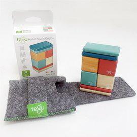 【淘氣寶寶】美國 TEGU 磁性積木8件組-Block Sunset
