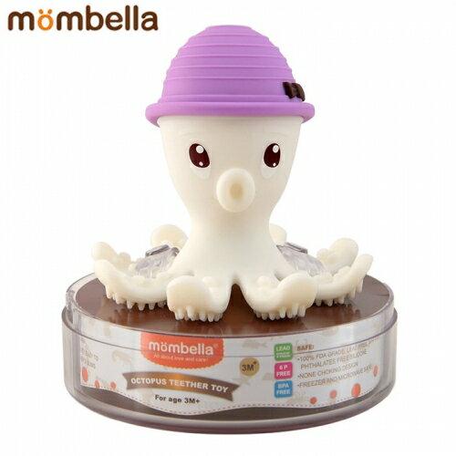 【安琪兒】【mombella】樂咬咬章魚固齒器-盒蓋裝(4色) 2