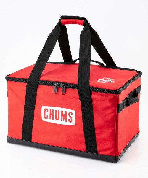 【毒】CHUMS Foldable Box M 收納盒 紅色