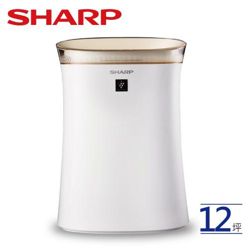 SHARP 夏普 FU-G50T-W  空氣清淨機 自動除菌離子 適用坪數約~12坪