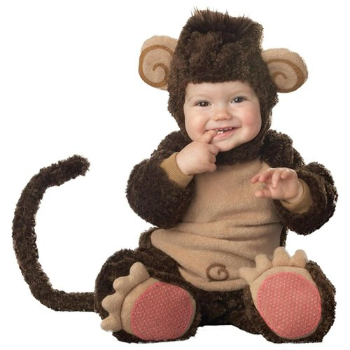 Lil Monkey Elite Collection Infant/Toddler Costume 0