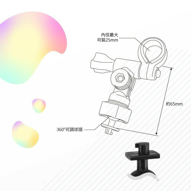 E02【長軸 柱型】後視鏡扣環支架 愛國者 H300 H500 V6 V7 X3 X5|BuBu車用品