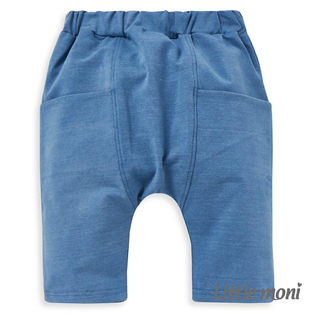 Little moni 水洗哈倫褲-深天藍(好窩生活節) 1