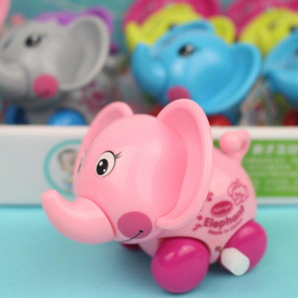 發條象 發條搖頭象 631 機靈小飛象/一個入{促50} Q版小象玩具(真環保.不必用電池喔)~生