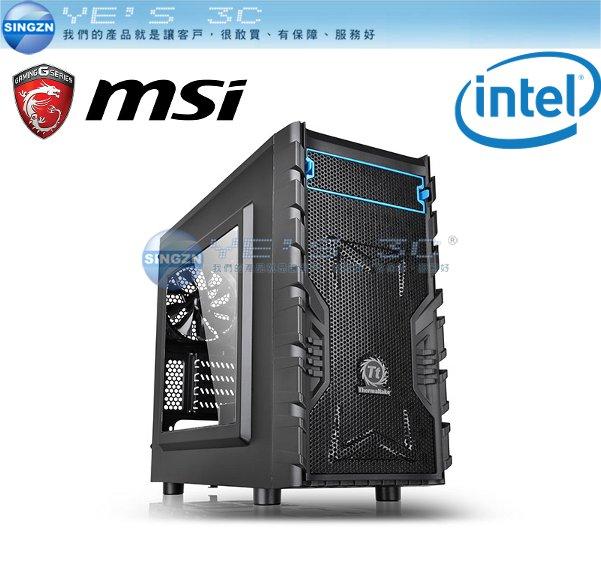 ~YEs 3C~INTEL 微星 鬥陣特攻初階主機 四核心桌上型電腦主機~I5~6400