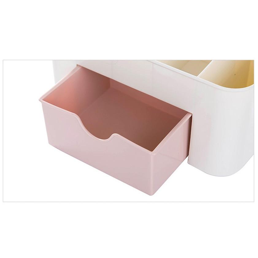 多功能桌面收納盒 附小抽屜  北歐風格裝面擺飾品 桌上 收納 化妝棉收納盒 現領優惠券  威叔叔百貨城堡【H00017】 6