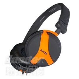~曜德視聽~AKG K518 LE 橘色 3D轉軸 耳罩式耳機 ~ ~送收納袋~