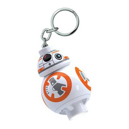 【 LEGO 樂高積木 】星際大戰 STAR WARS LED 燈鑰匙圈 - BB8