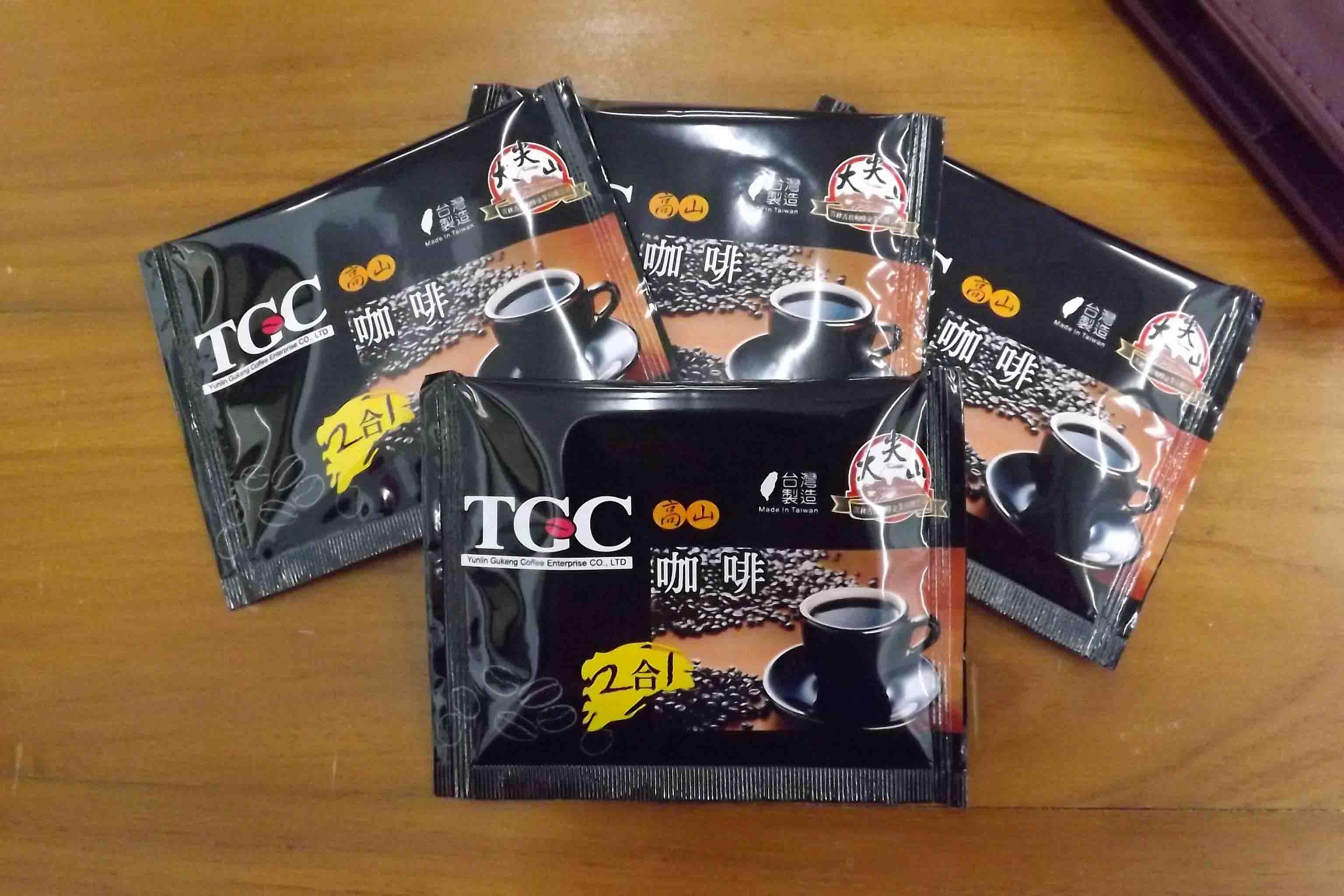 [古坑咖啡~TGC]台灣高山二合一咖啡量販100入裝