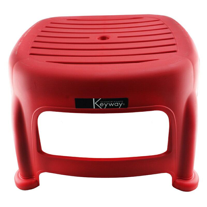 KEYWAY 聯府 RC665 花園止滑椅 25cm 藍 紅 咖啡 椅子 凳子 休閒椅 防滑椅 塑膠椅 台灣製造