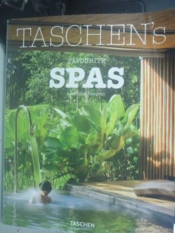 ~書寶 書T2/地圖_XGN~TASCHEN #x27 s Favourite Spas_