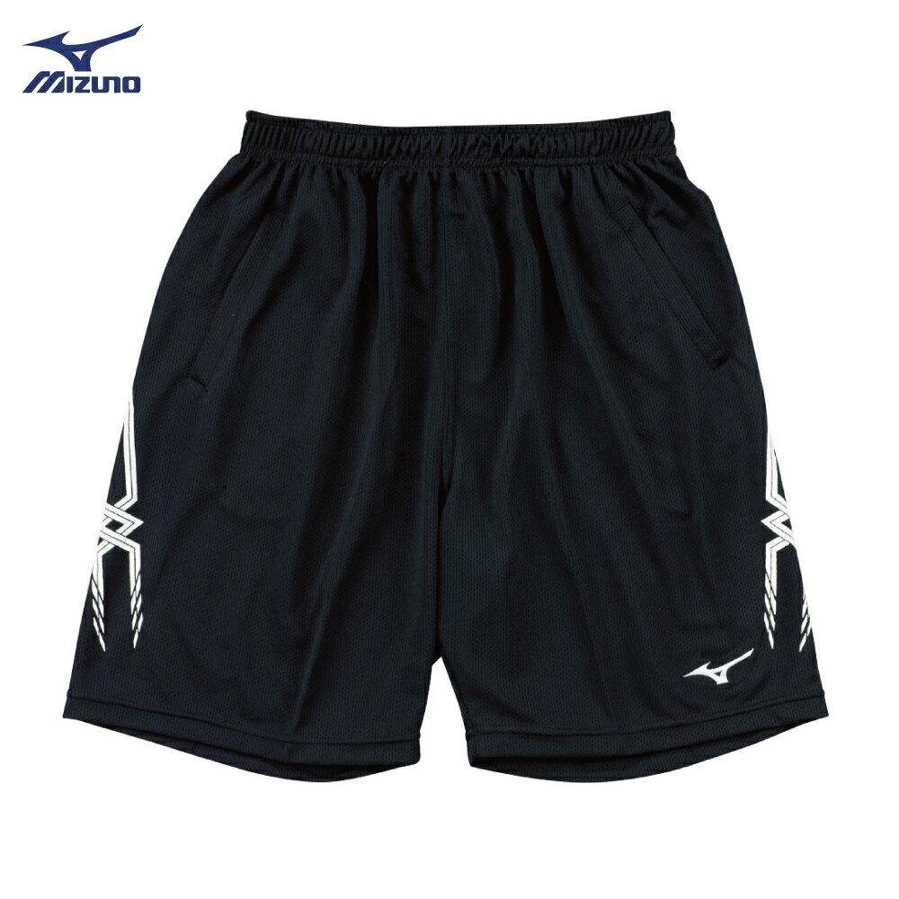 長版男款排球褲 V2TB7A0609 (黑)【美津濃MIZUNO】 0