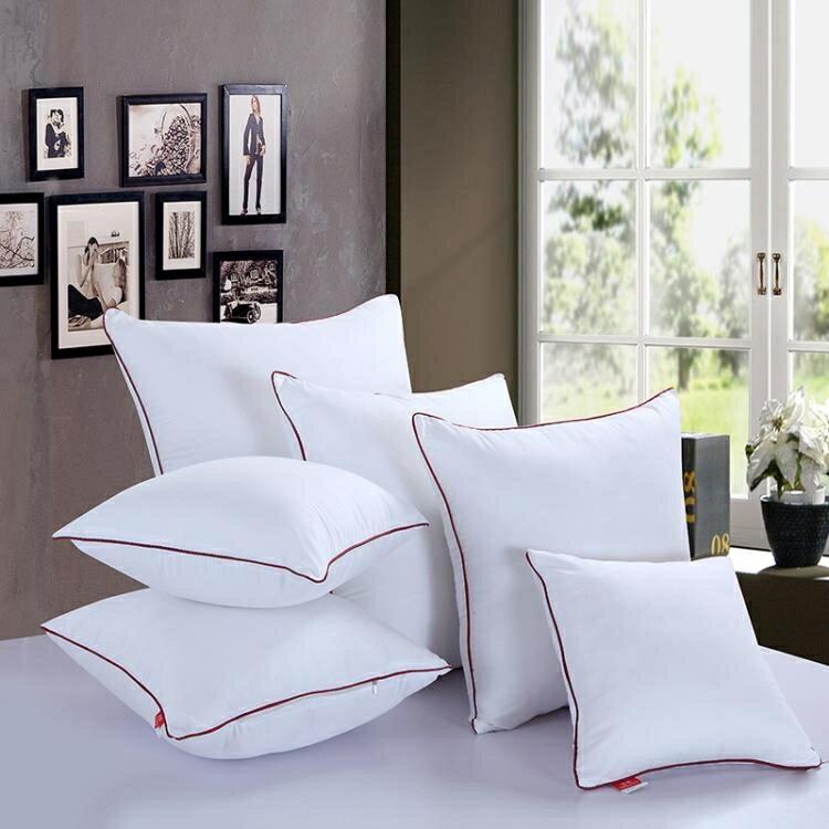抱枕 抱枕芯沙發靠枕靠墊芯40 45 50 55 60 65 70方枕芯正方形靠背枕芯 - 限時優惠好康折扣