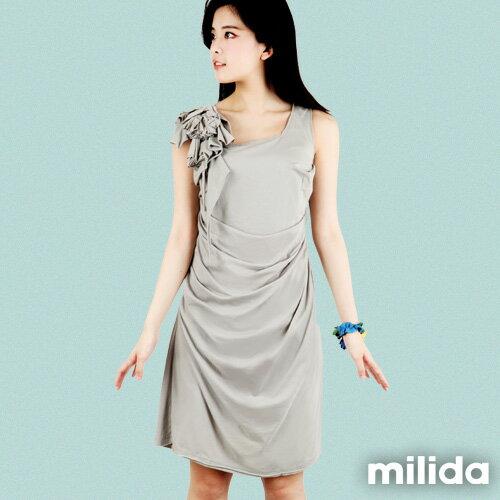 【Milida,全店七折免運】-早春商品-高雅款-氣質小禮服洋裝 0