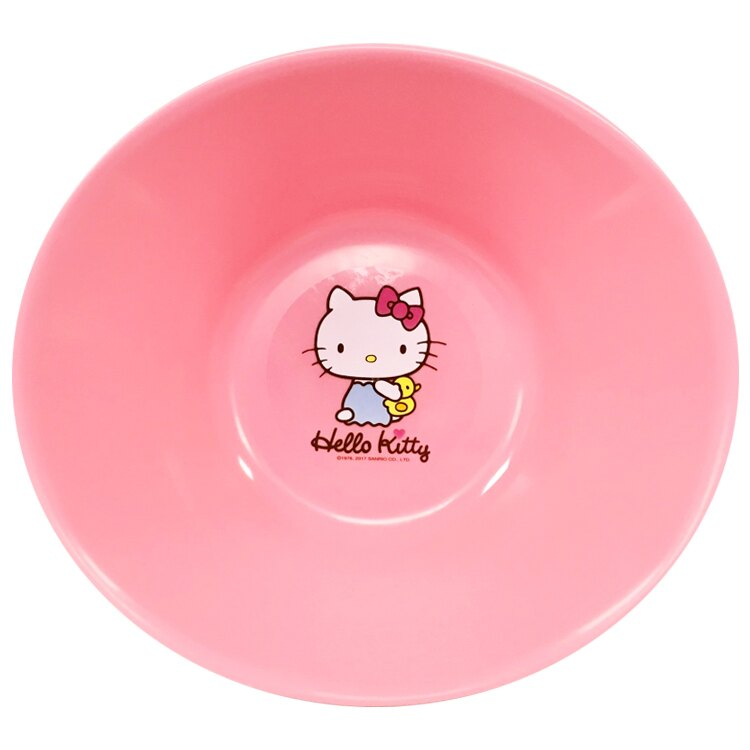 韓國製HelloKitty凱蒂貓臉盆 洗腳洗臉盆 盥洗用具 浴室衛浴清潔用容器 粉色 韓國進口正版 096221