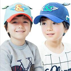 Kocotree◆時尚潮流質感超立體刺繡可愛小翅膀造型兒童鴨舌帽休閒運動棒球帽