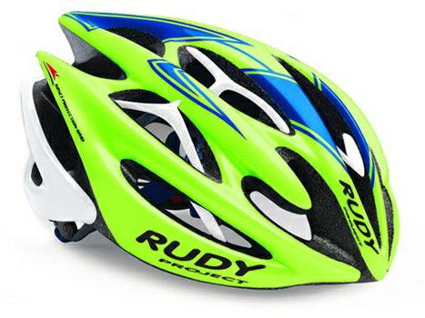 【7號公園自行車】RUDY PROJECT STERLING 安全帽(綠藍白)