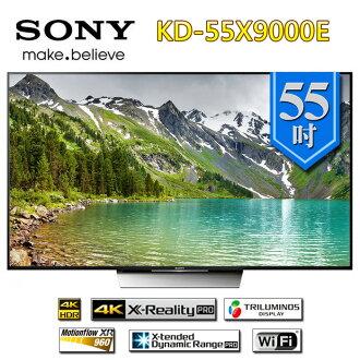 SONY 新力 KD-55X9000E 55吋 4K 液晶電視 公司貨 【贈基本桌裝】
