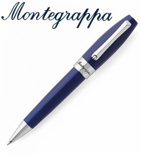 義大利Montegrappa萬特佳財富系列-原子筆(海洋藍-銀夾)ISFORBPD支
