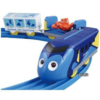 【 TAKARA TOMY 】Disney x PLARAIL 海底總動員 - 多莉火車