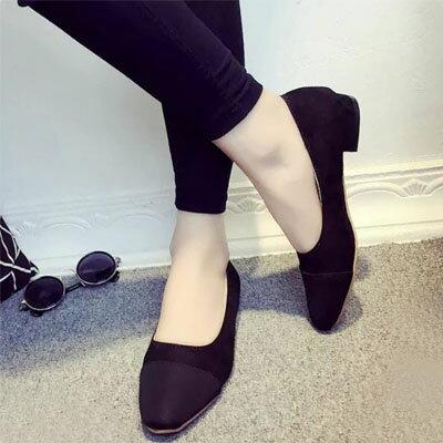 高跟鞋 名模最愛小香風撞色包鞋【S1533】☆雙兒網☆ 3