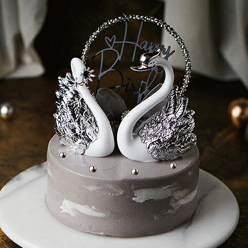 羽翼之戀  6吋【PATIO帕堤歐】造型蛋糕/生日蛋糕/卡通蛋糕